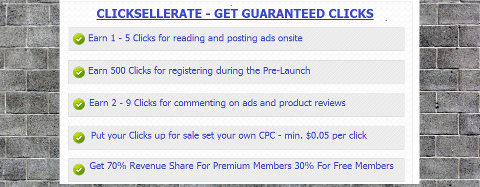 Clicksellerate: Your Doorway To Freedom 1