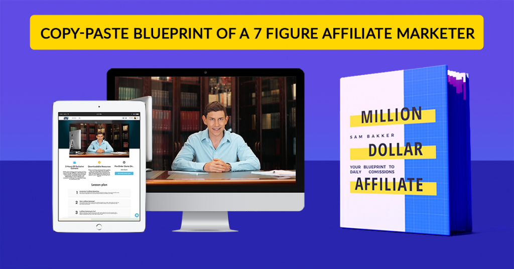Build Your Income With Sam Bakker's Million Dollar Affiliate